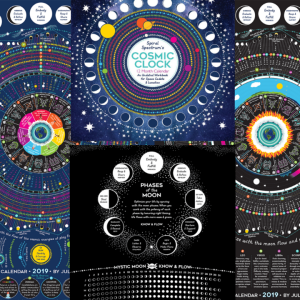 Spiral Spectrum Big Dipper lunar and solar calendar bundle