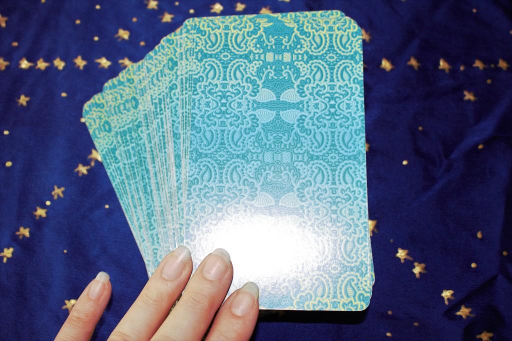 78 Tarot Nautical deck card backs ready for reading